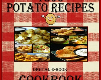 1560 Potato Recipes E-Book Cookbook Digital Download