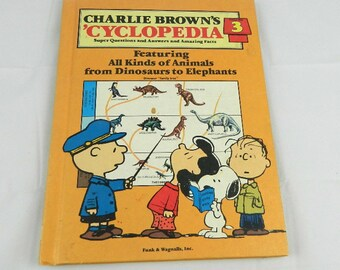 Charlie Brown Encyclopedia book Vintage Volume 3