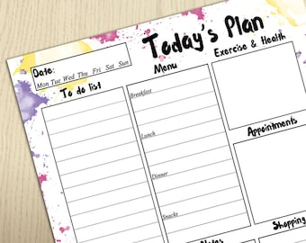 printable daily planner for college students koni polycode co