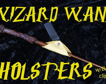 Wand Holster- clip-on style