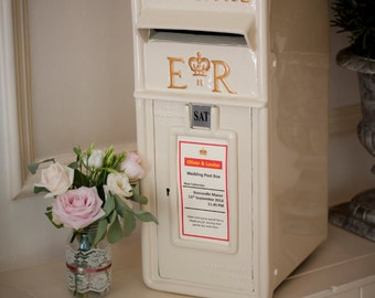 Wedding Post Box for Hire Cornwall UK