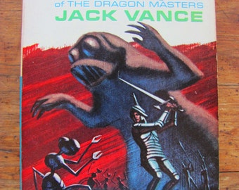 The World Between Monsters in Orbit Jack Vance Vintage Paperback Book Science Fiction 1960s Sci-Fi Scifi Space Mystery Thriller Robot Ants