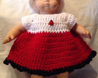 Clothes for bitty baby or bitty twin doll - crochet