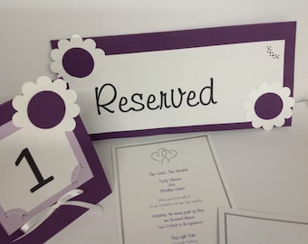 All occasion favors, invitations, center pieces, birth announcements,