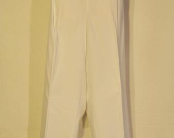 Women's Vintage White Slacks