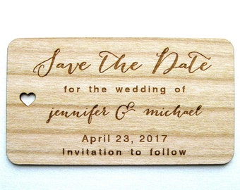 Wooden Save the Date, Rustic Save the Date, Wedding Save the Date cards, Wood Save the Date, Wooden Card, Rustic Wedding, Wooden Cards