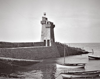 A4 framed print of Rhenish Tower, Lynmouth