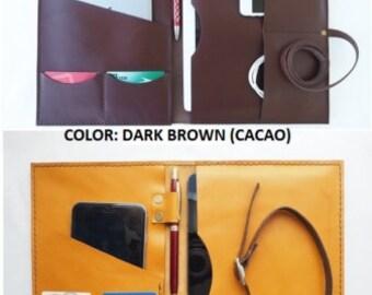 Leather Portfolio,a4 size Personalized Portfolio for men and women,monogrammed portfolio,leather portfolio case,Leather organizer folio