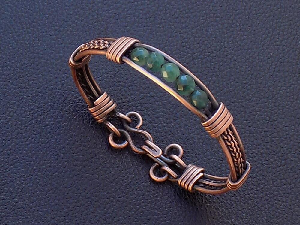 Bracelet tutorial,wire weaving tutorial,Jewelry tutorial,Bracelet ...