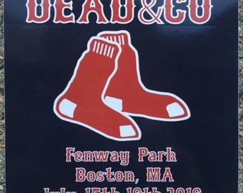 Dead & Company Fenway sticker