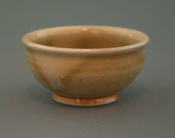 Gong Fu Cup, woodfired stoneware w/ celadon and natural ash glazes