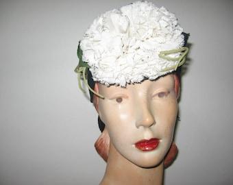NEW LISTING / 1930's-40's Pompadour Toy Hat!