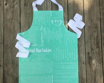 Tween Girl Gifts - Kids Baking Apron - Kids Apron - Tween Apron - Christmas Apron for Kids - Personalized Girls Apron - Stocking Stuffer