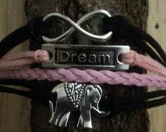 Handmade Elephant Charm Bracelet