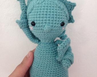 Symbol of New York, statue of liberty crochet, plush, decoration - doll - amigurumi