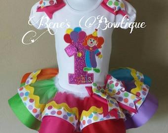 Carnival Ribbon Tutu Set