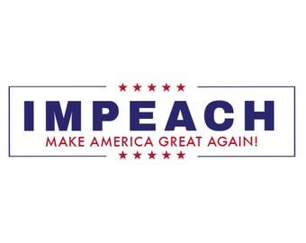 IMPEACH Bumper Sticker