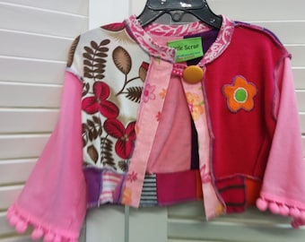 Little girls summer jacket