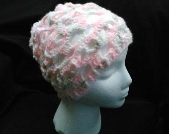 Crocheted skull cap