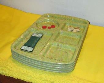 Melamine Tray Set | Vintage Serving Platters