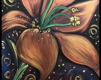Day Lily 16x20
