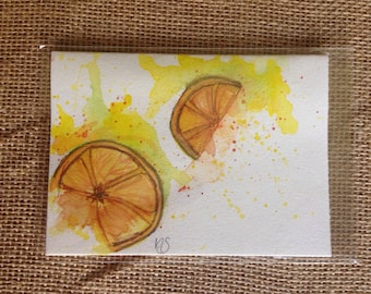 Mailable Art: My Lemon Sqeeze