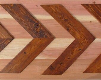 Wood Arrow Wall Art Set of 4