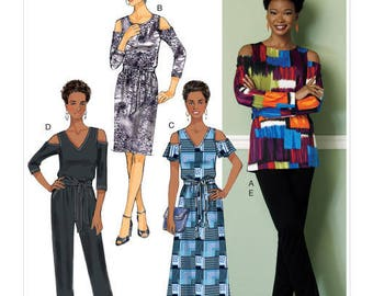 Top sewing pattern, by Butterick B6425 slip dress