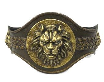 Larp Armor, Classical Lion Belt