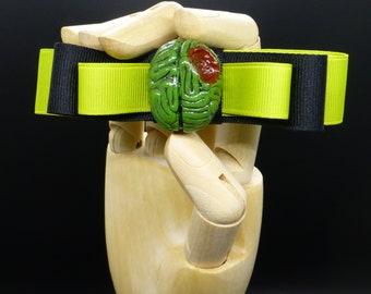 Zombie Brain Barrette