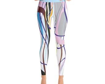 SGRIB Print - design 39 - Women's Fashion Yoga Leggings - xs-xl sizes