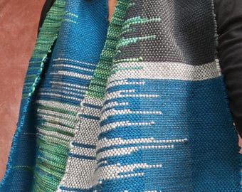 Earth- Hand woven Scarf