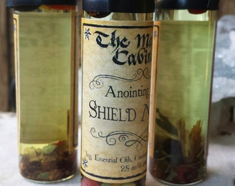 Shield Maiden Oil, Spiritual Protection Oil, Witchcraft Supply, Wicca Supplies, Ritual Oils, Anointing Oils, Wicca Oils, Witchcraft Oils
