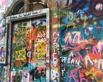 John Lennon Wall print