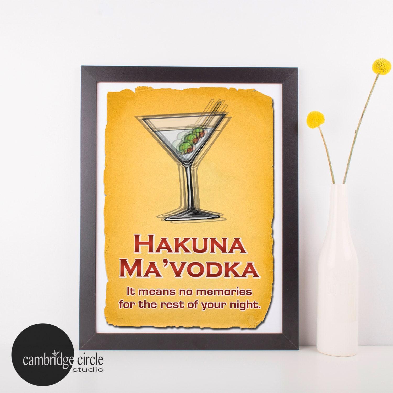 Hakuna MaVodka The Lion King Hakuna Matata Hakuna Ma Vodka