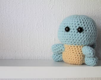 Pokemon Squirtle - MADE TO ORDER - Amigurumi Plushie