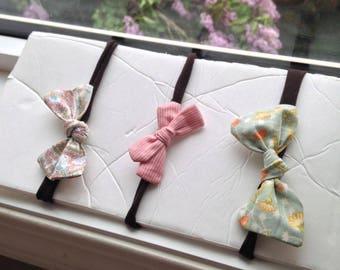 Set of 3 Baby Headbands