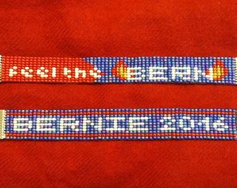 Bernie Sanders Beaded Bracelets