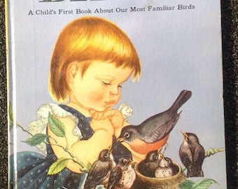 "Big Golden Book-"" Birds"" A Child's First Book About Our Most Familiar Birds"