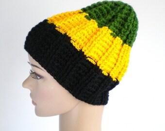 Jamaica hat rasta beanie, rasta accessories, Jamaica wear