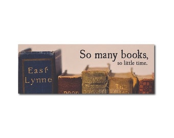 Vintage Books Bookmark   So many books so little time   Book Lover   Reader   Book Club   Nostalgia   Typography