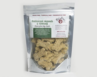 Butternut Squash & Greens Grain Free Dog Treats