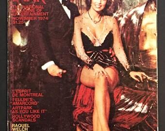 Vintage After Dark Entertainment Magazine November 1974