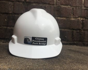 Clinton Presidential Park Bridge Hardhat
