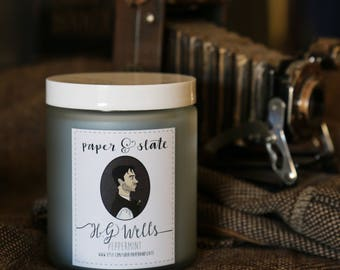 HG Wells 8 oz Handcrafted Soy Candle