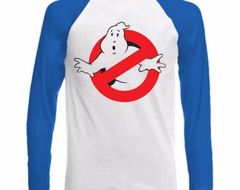 Long Sleeve Baseball T-Shirt - GHOSTBUSTERS Retro 80's