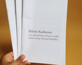 Silent Sadness: Mental Health Zine