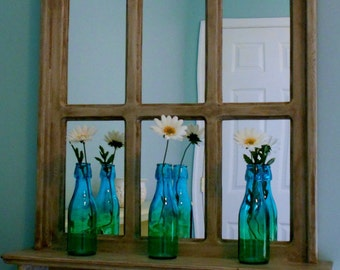 Large Rustic Mirror, Wooden Mirror, Rustic Wall Mirror, Farmhouse Mirror, Barn Mirror, Shabby Chic Mirror, Wooden Rustic Mirror, Wooden Mirr