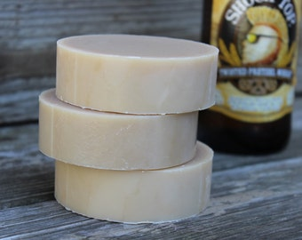 on sale |TWISTED PRETZEL SHAVE Soap | Tobacco Caramel Soap | Beer Soap | Shaving Soap | Groomsmen Gift | Shaving gifts for Men