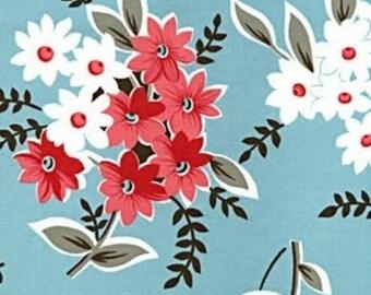 RARE  Blue Bouquet Denyse Schmidt Flea Market Fancy
